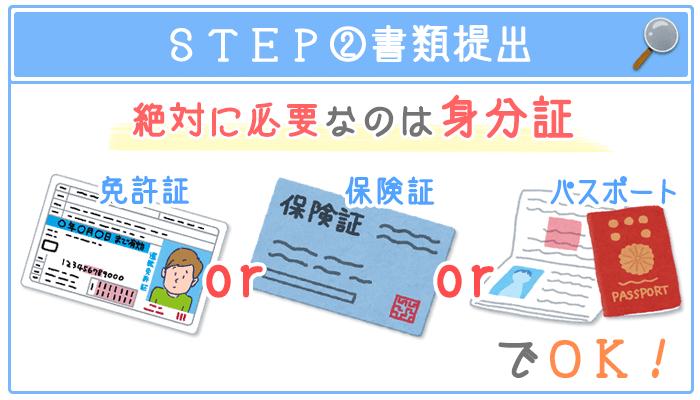 STEP②書類提出