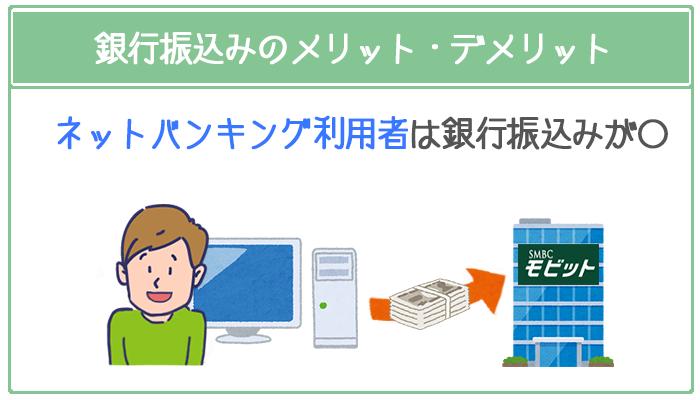 銀行振込はネットバンキングなら手数料無料