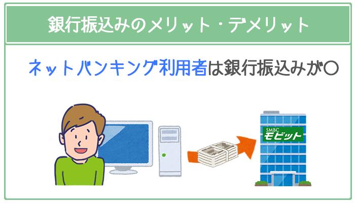ネットバンキングで取り引きを統一したいなら銀行振込みがおすすめ