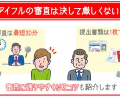 アイフル審査の基準・時間を解説!