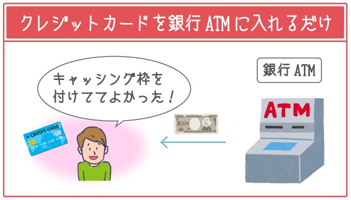クレジットカードでキャッシングすれば今すぐ5万円が手に入る